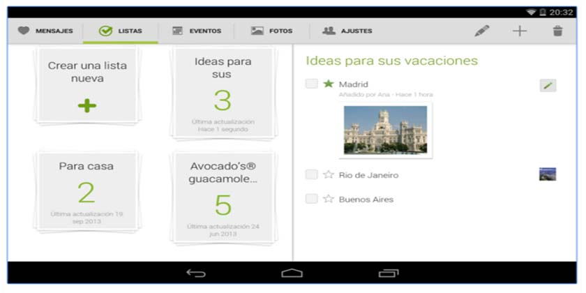 apps para enamorados. avocado