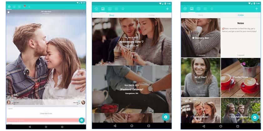 apps para enamorados. between