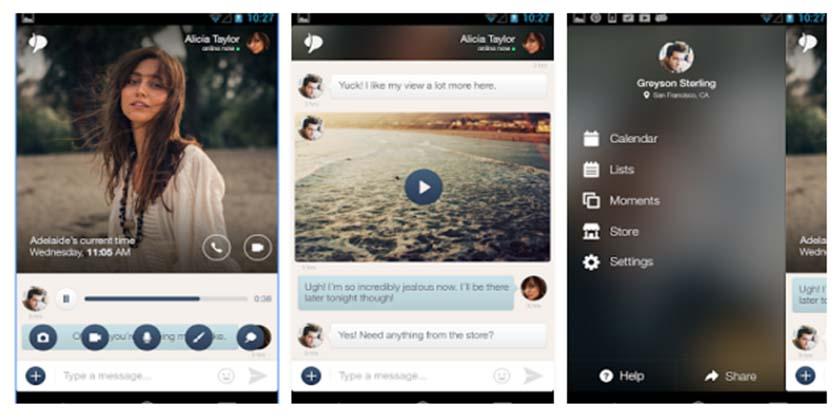 apps para enamorados. couple