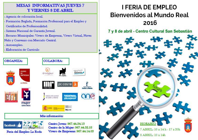 Trinexo participa en la I Feria del Empleo de La Roda