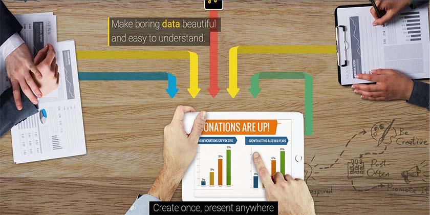 Visme.co. herramientas online para emprendedores