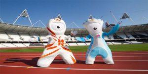 Wenlock y Mandeville Mascotas de los JJ.OO Londres 2012