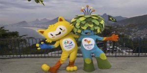 Vinicius y Tom Mascotas de los JJ.OO Río 2016.