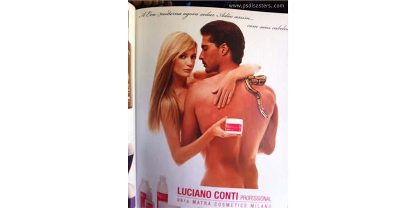 Luciano Conti 25 delirantes errores de photoshop en publicidad