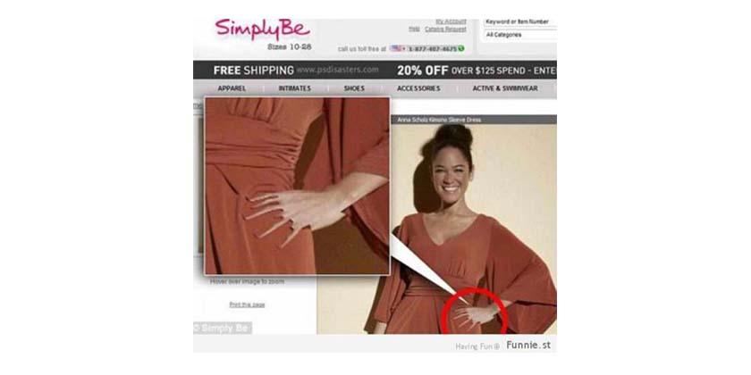 SimplyBe 25 delirantes errores de photoshop en publicidad
