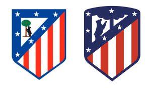 Rediseño del logo del Club Atlético de Madrid