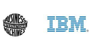Rediseño del logo de IBM