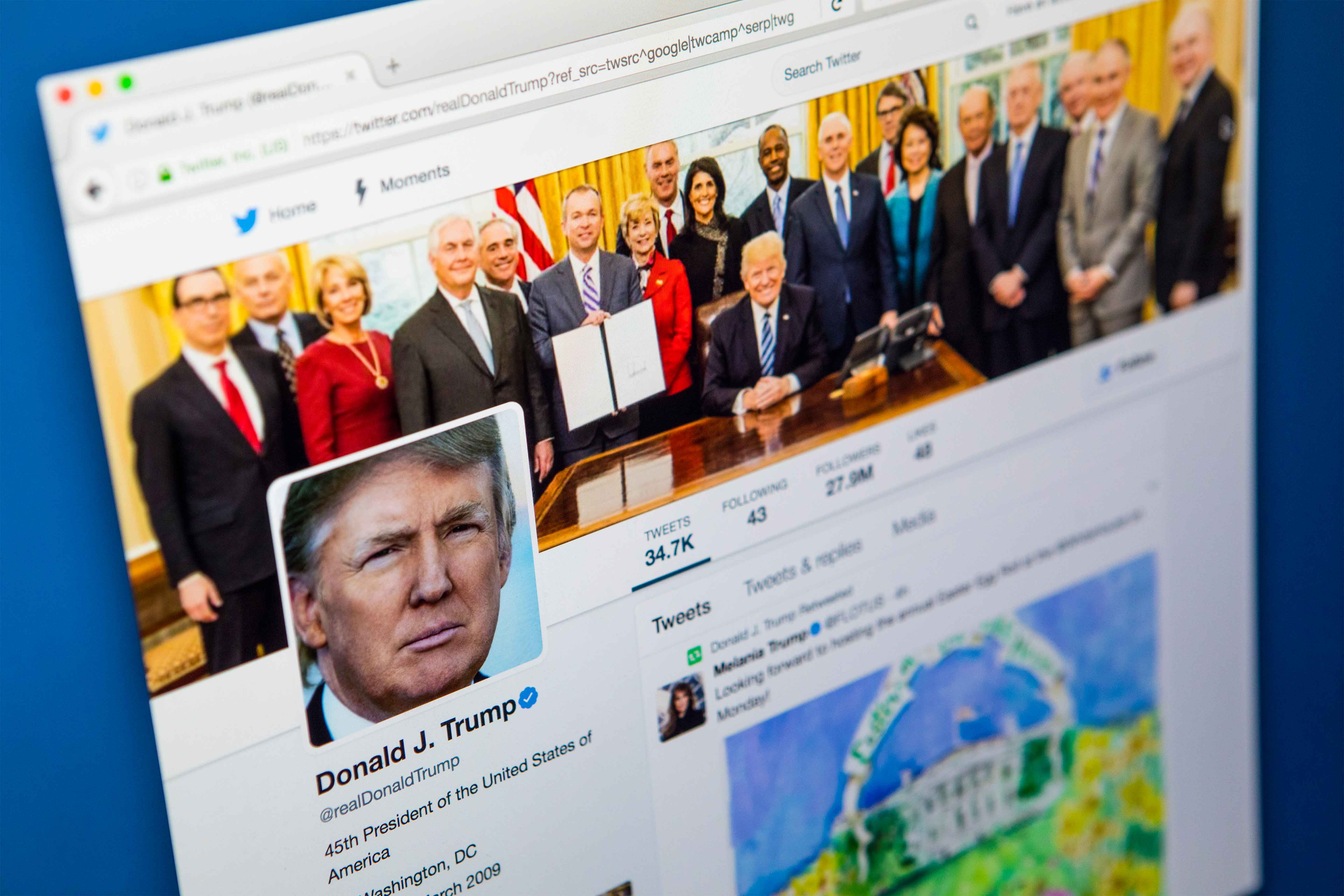 Las cuentas de Twitter más mencionadas en España