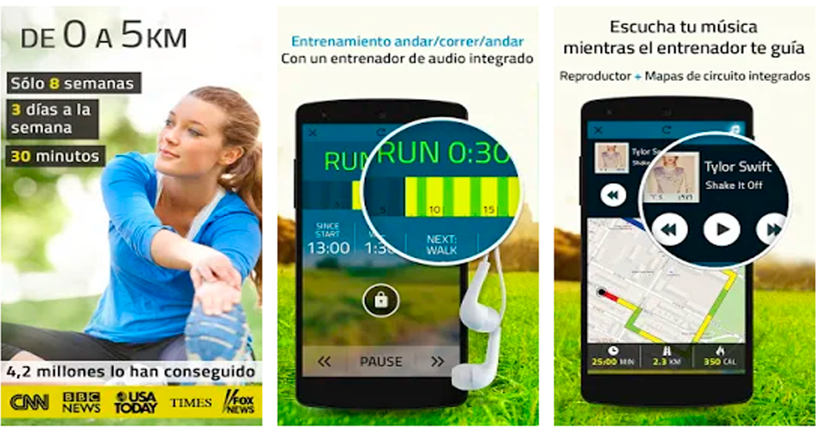 de 0-a 5000 Las 10 mejores apps para ponerte en forma