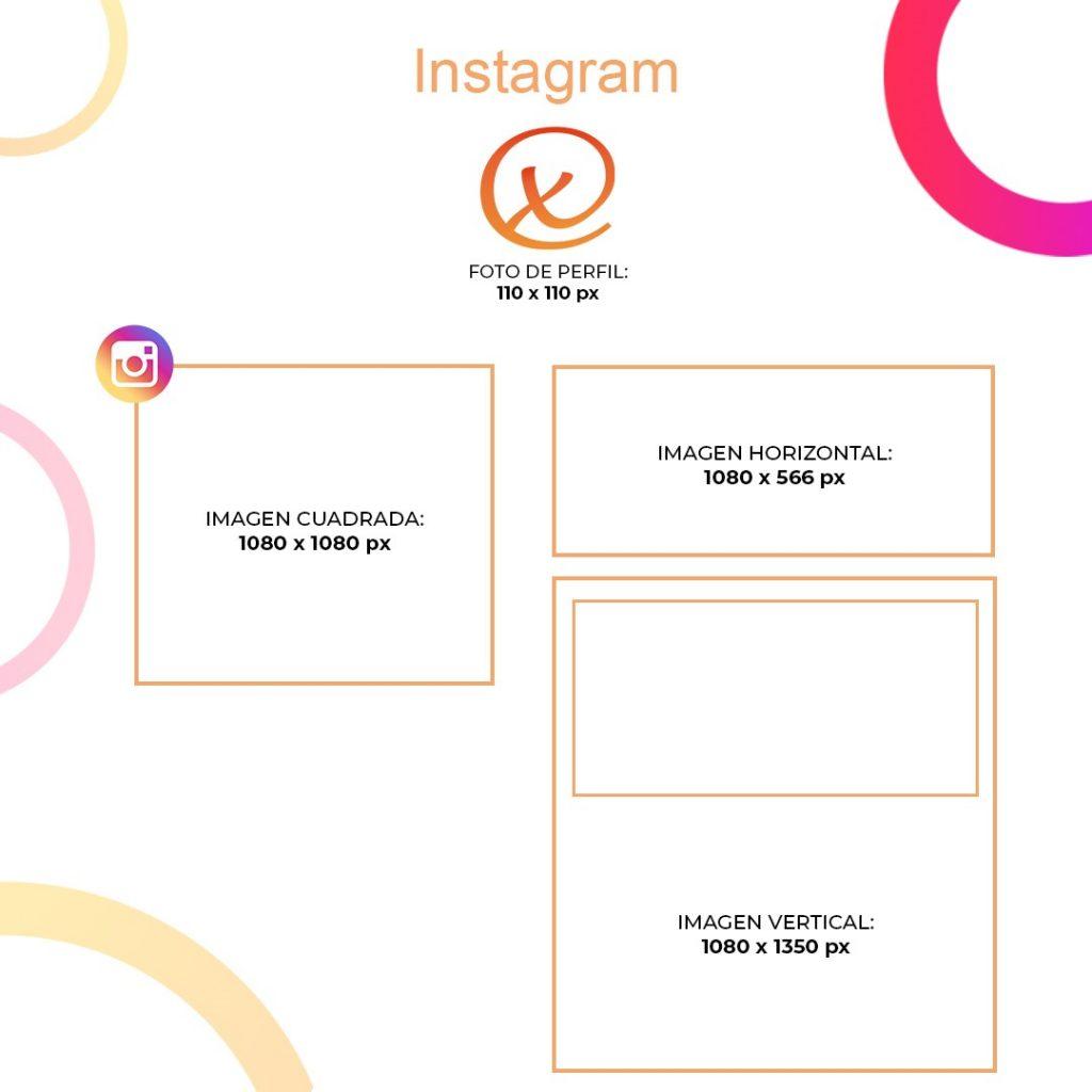 Medidas Instagram