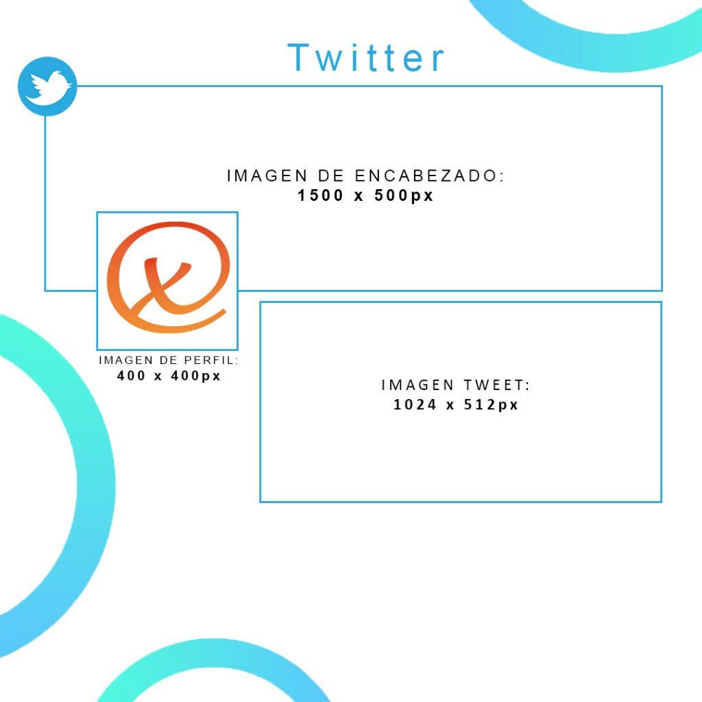 Medidas Twitter