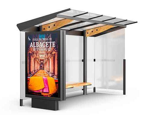 Branding y Diseño UTE Casas Amador Marquesina Autobús